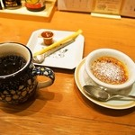 浪花ろばた 頂鯛 - 頂鯛定食Plus(食後の珈琲&フランス産栗のクレーム ブリュレ)