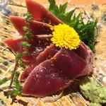 築地玉寿司 - 「づけ鮪ゆず風味」660円
