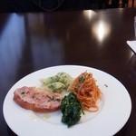 オステリア ラ フェニーチェ - 前菜盛り