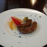 オステリア ラ フェニーチェ - 自家製サルシッチャ