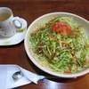 がじゅまる童 - 料理写真:料理:タコライス(L) & ホットジンジャー