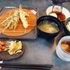 天ぷら家 てんてん - 料理写真:天ぷらの定食(てんてん定食・天ぷら6品¥750(税込¥810))