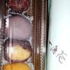 一真庵 - 料理写真:(上から)粒あん、漉し餡、きび、きな粉