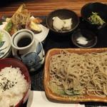 手打蕎麦 ばんしゃ - ばんしゃ膳(夜)