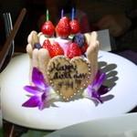 THUMBS UP - バースデイケーキ(友人へのサプライズ)