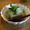 手打蕎麦 椋庵 - 料理写真:蕎麦豆腐・グリーンピースのソース