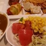 パークレストラン - サラダ、惣菜。