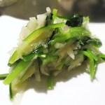 サルキッチン - 壬生菜とカブのサラダ