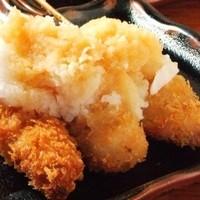 おろしポン酢串かつ