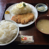 龍晃麺 - 料理写真:とんかつ定食 大盛