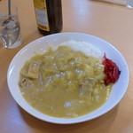 玉半食堂 - カレー、500円