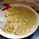 玉半食堂 - 大盛カレーは600円
