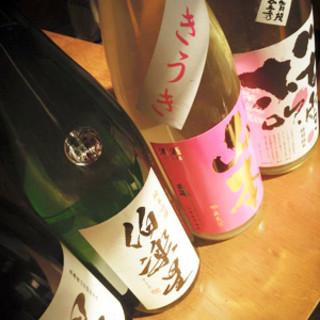 やっぱり最後まで【日本酒】でしょ*