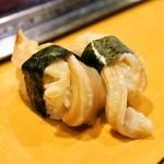 栄寿司 - 2015.3 みる貝(1貫220円)