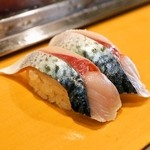 栄寿司 - 2015.3 さば(1貫110円)