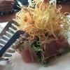 トーキョーストーリーカフェ - 料理写真:シャキシャキ水菜とカリカリポテトと生ハムのサラダ1,200円