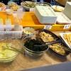 万作 - 料理写真:サラダに魚料理