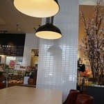 プランタン ブラン - カフェ店内