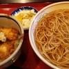 長寿庵 蕎匠 - 料理写真:ランチ ミニいか丼とそばのセット 920円