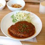サイン カフェ ベリー ユー - ハンバーグ定食 980円