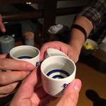 酒の魚 和海 - 乾杯!