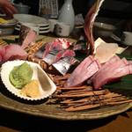 酒の魚 和海 - 刺身盛り合わせ