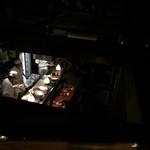 酒の魚 和海 - 2Fから見た店内