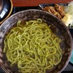 琉球麺 茉家 - 福幸豚の中落ち生姜そば