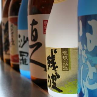日本酒・地焼酎を銘柄豊富にご用意