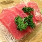 鮮魚仕出し 幾の家 - 近海物の生本マグロ。寿司屋でいただくような質の良さです(*´∀`*)