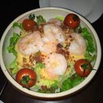 洋食屋チーフ - 自家製オニオンドレッシングサラダ