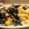 水扇 - 料理写真:キクラゲ玉子炒め