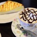 珈琲屋 らんぷ - 料理写真:カフェモカチーノ