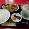 川虎 - 料理写真:日替りランチ(760円) 麻婆茄子