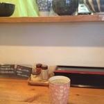 麺や拓 - カウンター席