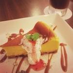 サンテリアプラス - かぼちゃのチーズケーキ