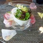 ル・ゴーシュ・セキ - お味も見た目も春らしい冷前菜15.3