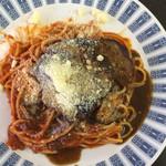 レストラン サム - ハンバーグとナポリタンセット1300円