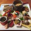 竹とんぼ - 料理写真:おまかせランチの前菜。ボリュームも品数も満足!