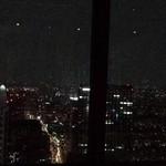 ホテルオークラレストラン新宿 ワイン&ダイニング デューク - 席から見た夜景