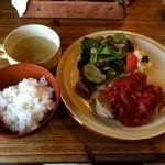 cafe soto - 鶏のトマトソース 1250円