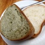 AWkitchen figlia - さつまいもとほうれん草のパン