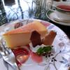 ちゃい夢 - 料理写真:ムーミン展コラボケーキセット