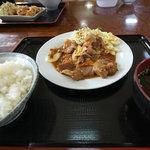 お食事処 ひろちゃん - 焼肉定食