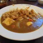 CoCo壱番屋 - 野菜カレー600円(税抜)