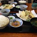 ふく一 - 日替定食(天ぷら)