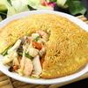 梅蘭 - 料理写真:海鮮梅蘭焼きそば1470円 沙茶醤をベースにしています。エビ・イカ・帆立などの具材の餡が焼きそばの中に入っています。
