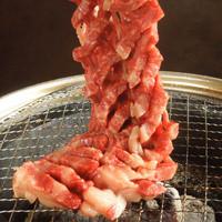 本格炭火焼肉上質な和牛を使用したドラゴンカルビをご堪能下さい