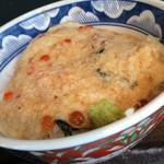 根室食堂 - いくらのとろろ丼と秋刀魚の塩焼き定食のいくらのとろろ丼
