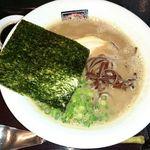 あか土 - 料理写真:豚骨醤油 細麺